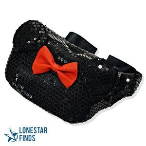 Loungefly x Disney Minnie Mouse Sequin Waist Bag